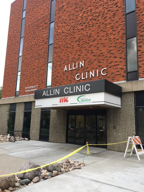 Allin Clinic in Downtown Edmonton